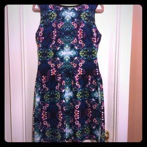 Cynthia Rowley print dress size 12